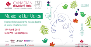 MUSIC IS OUR VOICE | LIVE FROM DUBAI OPERA